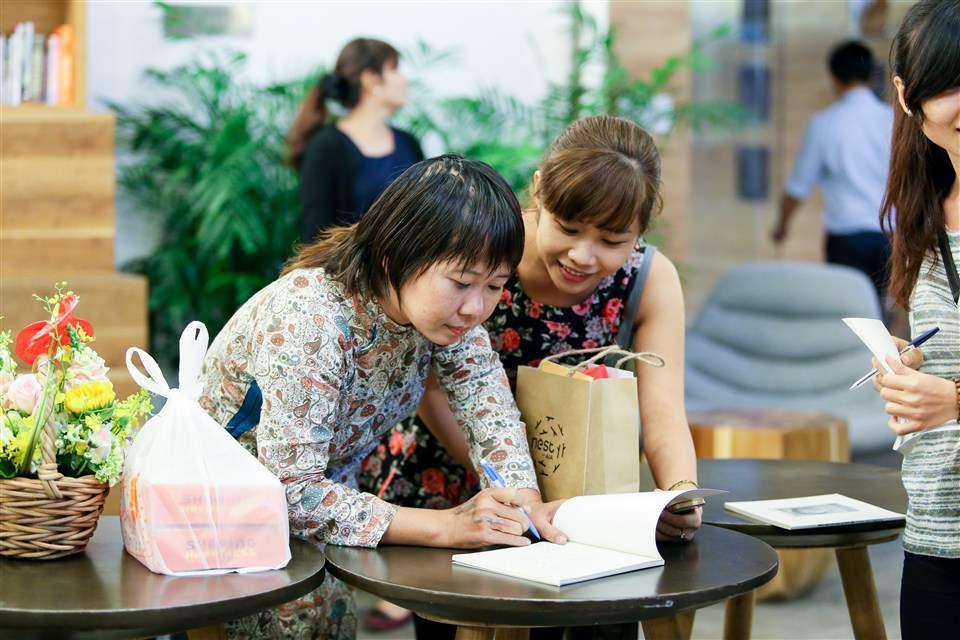 Buổi giao lưu cùng nữ họa sĩ điêu khắc và sắp đặt Nguyễn Kim Hoàng: tai nạn là một trải nghiệm, phiêu lưu tận cùng của cảm xúc