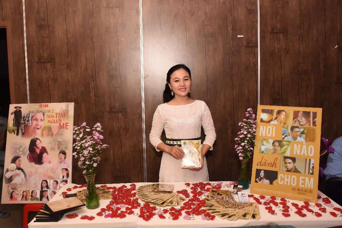 Nữ hoàng Trí huệ Việt và vai diễn trong phim về trẻ khiếm thị