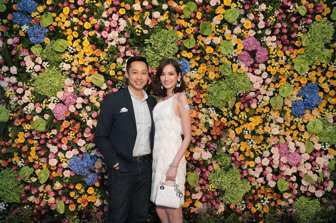 Vợ chồng người mẫu Trúc Diễm cũng ra mắt cửa hàng tại Saigon Centre
