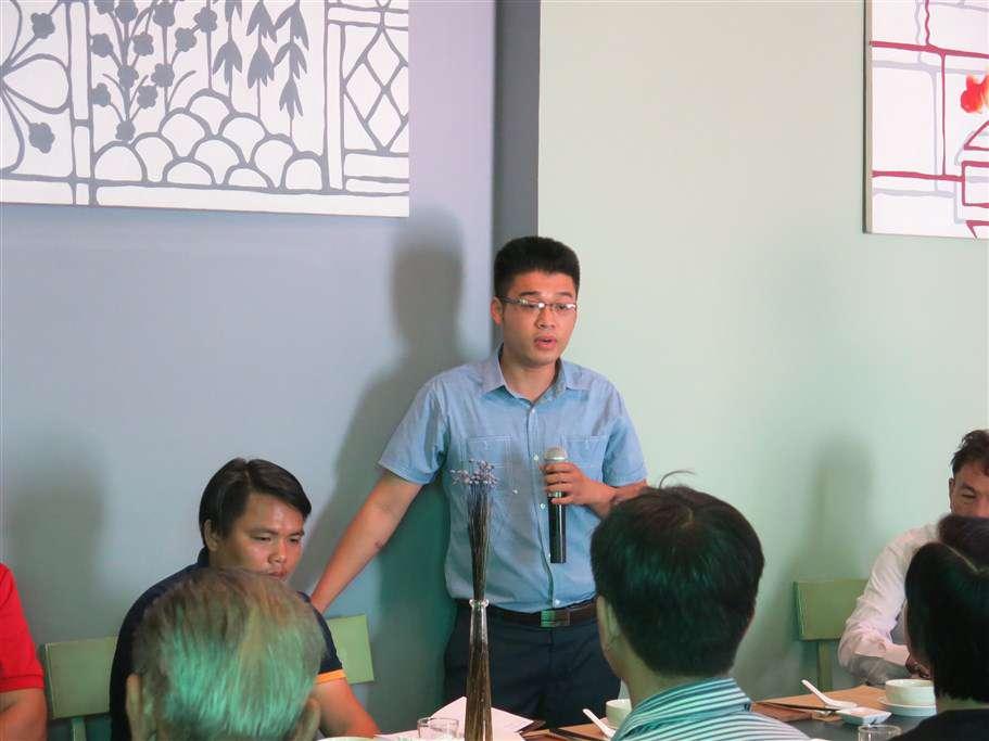 Anh Nguyễn Văn Triển - Giám đốc Công ty CP thực phẩm Tân Phát đến từ Long An cũng đã cung cấp nhiều thông tin về công dụng của Pín hải cẩu, cách khai thác, nhập khẩu và phân phối tại Việt Nam