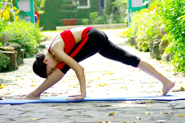 Hinh yoga