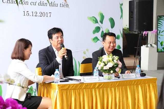 Ban giám đốc CapitaLand Việt Nam