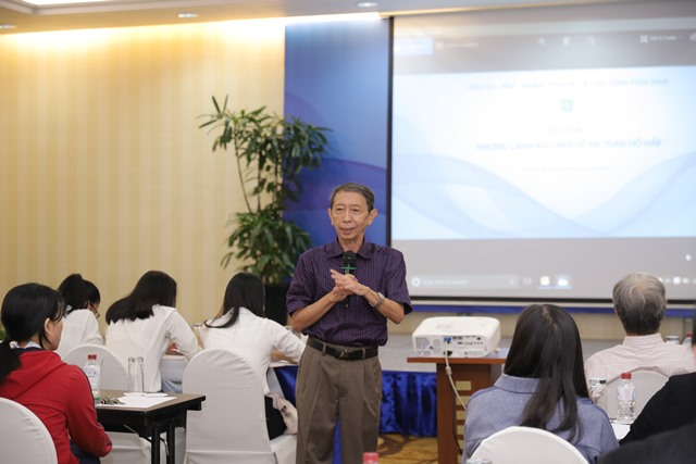 Chủ tịch Hội Tai Mũi Hong tp Hồ Chí Minh - BS Huỳnh Khắc Cường