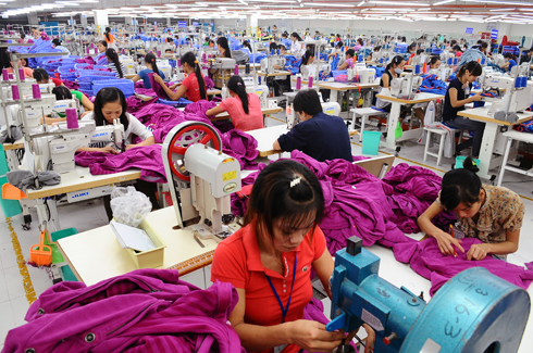 Hàm lượng giá trị gia tăng trong ngành dệt may còn thấp