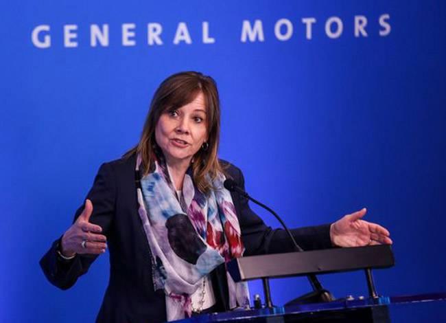 CEO Marry Barry của General Motors lànữ lãnh đạo quyền lực nhấtcủa ngành công nghiệp ô tô. Ảnh: CNN.
